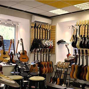Музыкальные магазины Гатчины