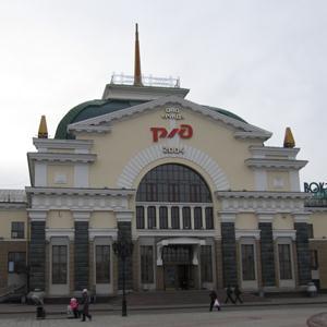 Железнодорожные вокзалы Гатчины